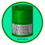 Пропитка BIOTERM EXTERIOR